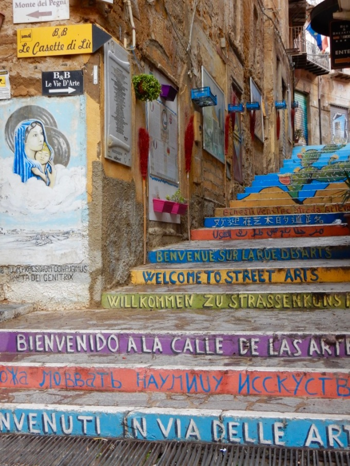 Street art in Agrigento
